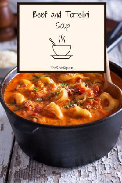 Beef and Tortellini Soup